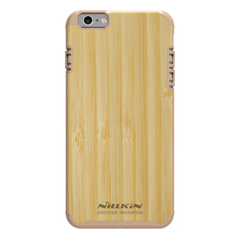 Drevený obal NILLKIN + vnútorná guma pre iPhone 6 Plus   6S Plus f10984ff6ce