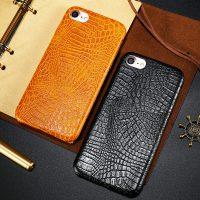 Elegantný kryt FLOVEME s krokodílim vzorom pre iPhone 7 3
