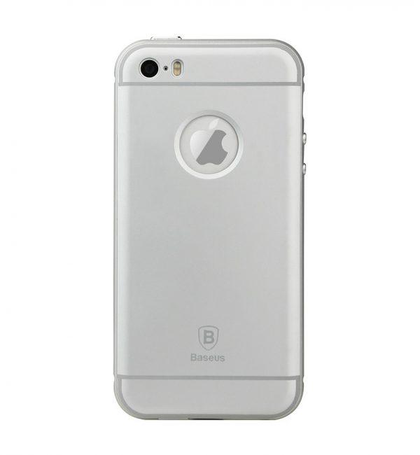 Hliníkový obal BASEUS pre iPhone 5:5S:SE, Strieborná farba1