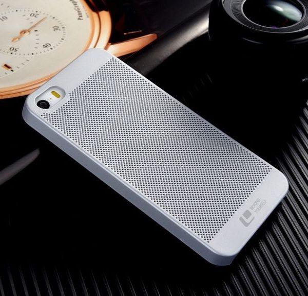 LOOPEE tvrdené púzdro pre iPhone 55SSE, Strieborná farba (1)