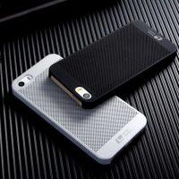 LOOPEE tvrdené púzdro pre iPhone 55SSE, Strieborná farba (2)