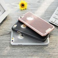 LOOPEE tvrdené púzdro pre iPhone 6 Plus6S Plus, tkaný vzor (2)