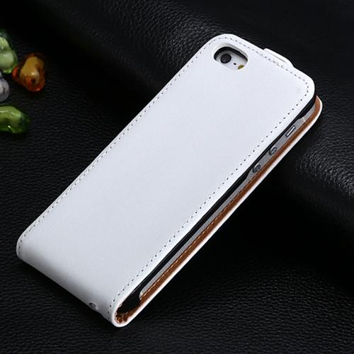 Luxusný kožený obal na iPhone 5 5S vo farbách - Obaly 76224bff0de