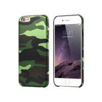 Ochranný kryt na iPhone 7 Plus maskáčový v zelenej farbe