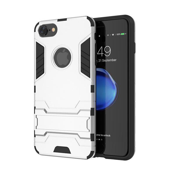 Ochranný kryt na iPhone 7 v striebornej farbe - Obaly b2669604184