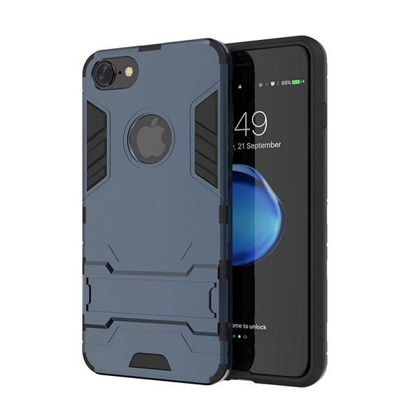 Ochranný kryt na iPhone 7 Plus v tmavo modrej farbe