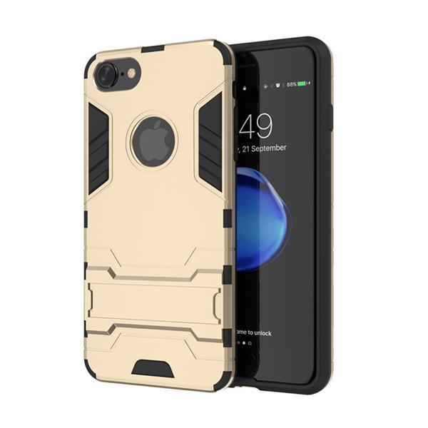 Ochranný kryt na iPhone 7 Plus v zlatej farbe