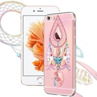 Silikónové púzdro pre iPhone 66s - Dream Catcher with Butterfly