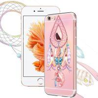Silikónové púzdro pre iPhone 66s - Dream Catcher with Ribbon