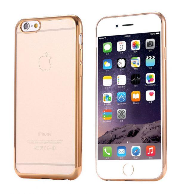 Silikónový dekoračný obal KISSCASE pre iPhone 6 : 6S1