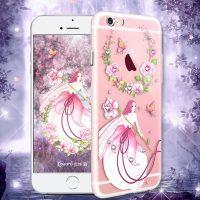 Silikónový obal s kryštálmi KAVARO pre iPhone 6 Plus : 6S Plus3