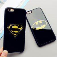 Silikónový zrkadlový obal Batman a Superman pre iPhone 6 : 6S1