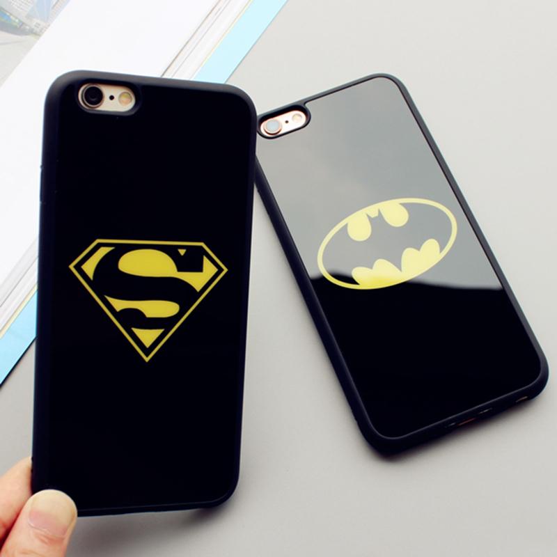 b06a6b4df Silikónový obal Batman a Superman pre iPhone 5 / 5S / SE - Obaly ...