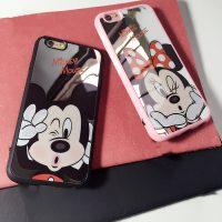 Silikónový zrkadlový obal Mickey a Minnie5