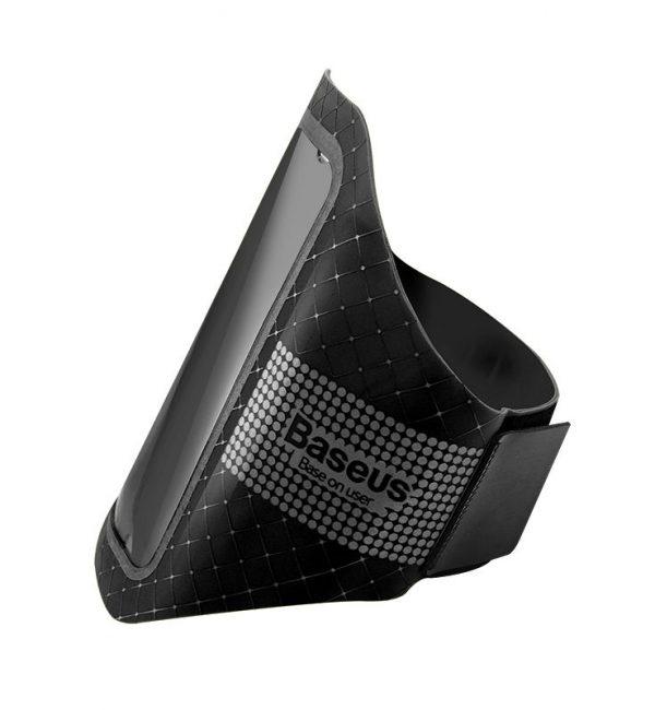 Športové púzdro BASEUS na iPhone 55S66S určený na behanie, čierna farba