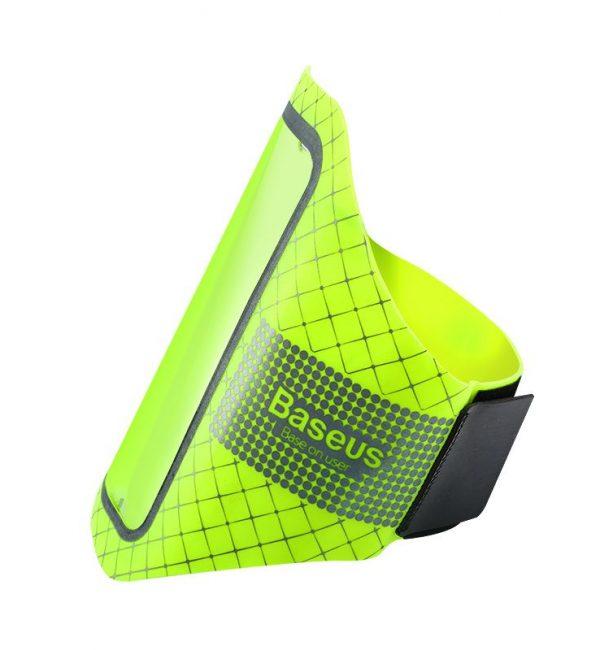 Športové púzdro BASEUS na iPhone 55S66S určený na behanie, zelená farba