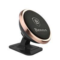 360 stupňový univerzálny magnetický stojan do auta BASEUS, ružová farba