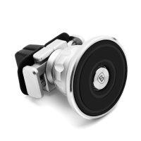 Aromatizujúci 360 stupňový magnetický držiak do ventilátora auta s vôňou BASEUS, strieborná farba (1)