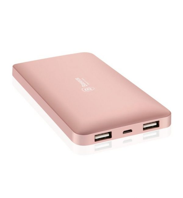BASEUS Power Bank 10000mAh, externá batéria, rose gold (2)