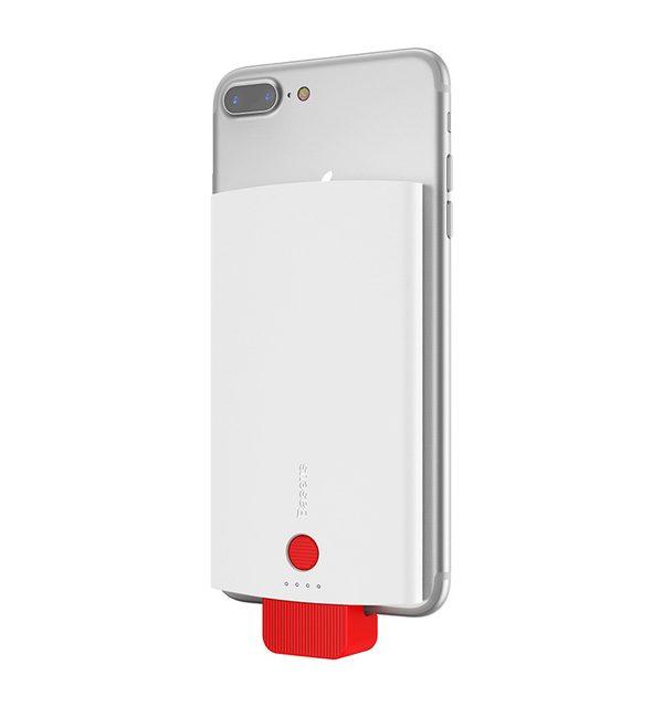 BASEUS Power Bank 4000mAh, externá batéria, biela farba