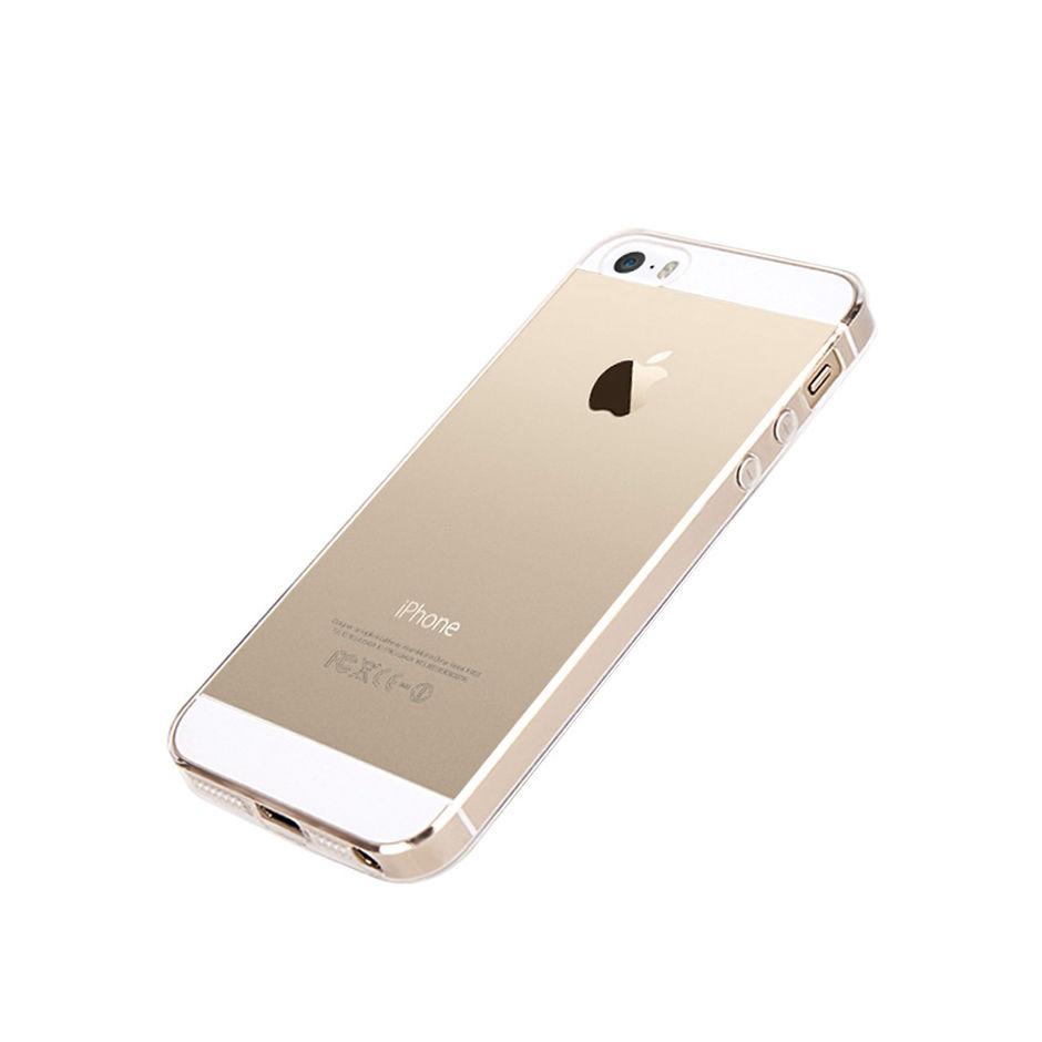 Silikónový kryt pre iPhone 5 5s SE transparentný - Obaly 49da11cad79