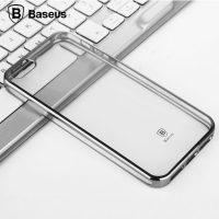 Dekoračný kryt BASEUS na iPhone 55SSE v chromovej farbe (2)