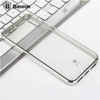 Dekoračný kryt BASEUS na iPhone 55SSE v striebornej farbe. (2)