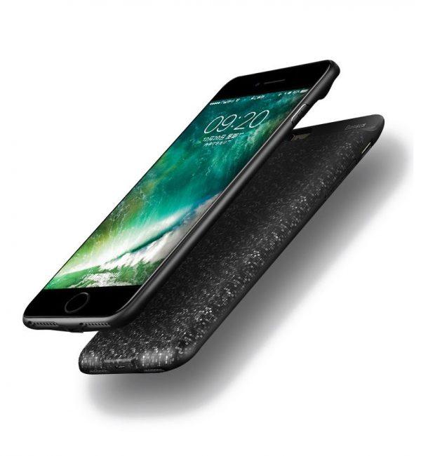 Dobíjací obal BASEUS na iPhone 7, v čiernej farbe, 2500 mAh (1)