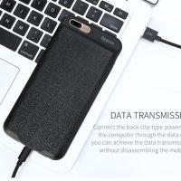 Dobíjací obal BASEUS na iPhone 7, v čiernej farbe, 2500 mAh (2)