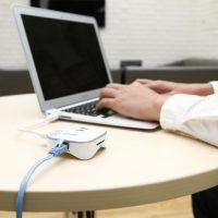 Dvojportový rozširovací dock BASEUS s internetovým pripojením a čítačkov kariet (1)