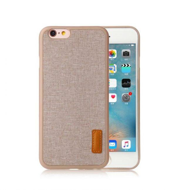 Elegantný kryt BASEUS na iPhone 6 a 6S v bežovej farbe (2)