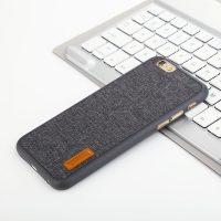 Elegantný kryt BASEUS na iPhone 6 a 6S v tmavo šedej farbe (1)