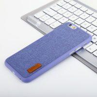 Elegantný kryt na iPhone 6 a 6S v modrej farbe (2)