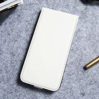 Luxusné púzdro zo syntetickej kože pre iPhone 7 Plus v bielej farbe (1)