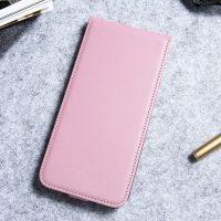 Luxusné púzdro zo syntetickej kože pre iPhone 7 Plus v ružovej farbe (1)