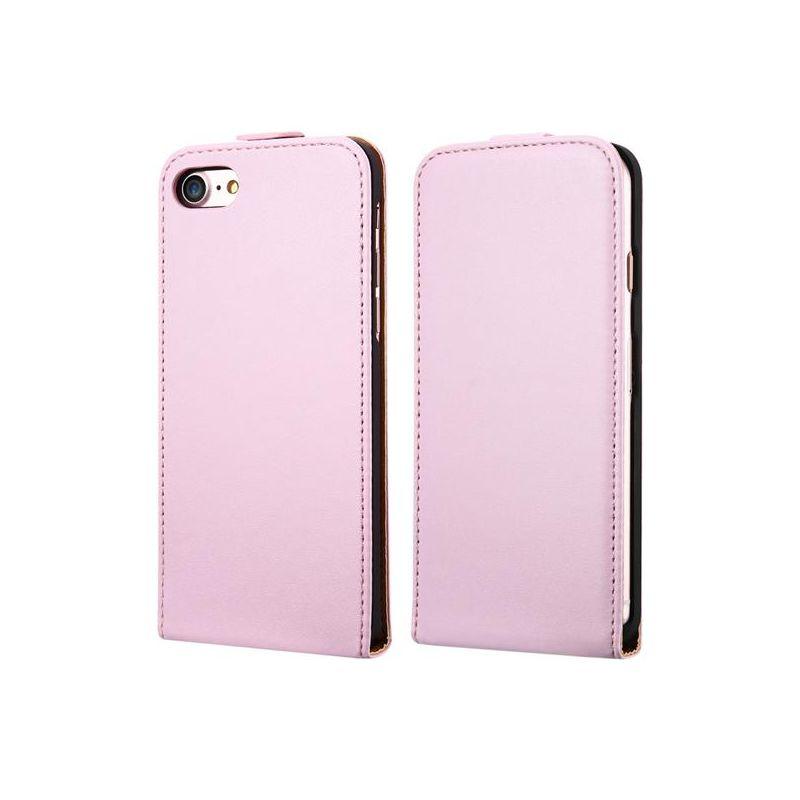 Luxusné púzdro zo syntetickej kože pre iPhone 7 Plus v ružovej farbe (2) ... 0434c5137a6