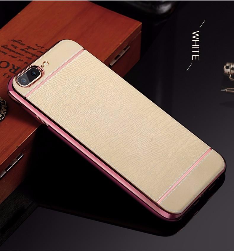 Luxusný silikónový kryt Cafele s koženým motívom pre iPhone 7 Plus ... 42a1196a775