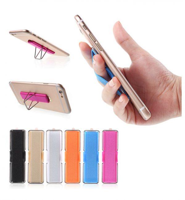 Ručný držiak na iPhone s elastickým popruhom vo farbách (6)
