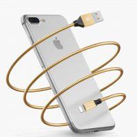 Synchronizačný a nabíjací kábel lightning pre iPhone iPad iPod (1)