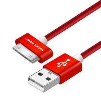 30-Pinový nabíjací kábel VOXLINK, 20cm, červená farba (1)