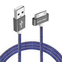30-Pinový nabíjací kábel VOXLINK,, 20cm na staršie typy iPhonu alebo iPadu. Synchronizačný a nabíjací kábel 30-pin pre iPhone iPad iPod (2)