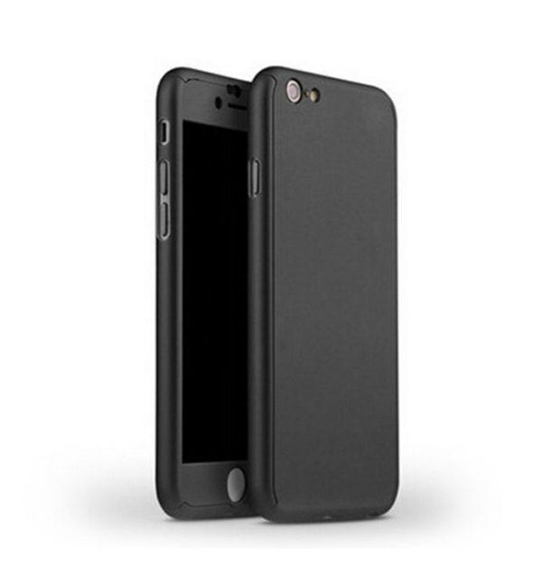Celo telový kryt na iPhone 66s v čiernej farbe (1)