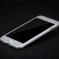 Celo telový kryt na iPhone 66s v striebornej farbe (3)