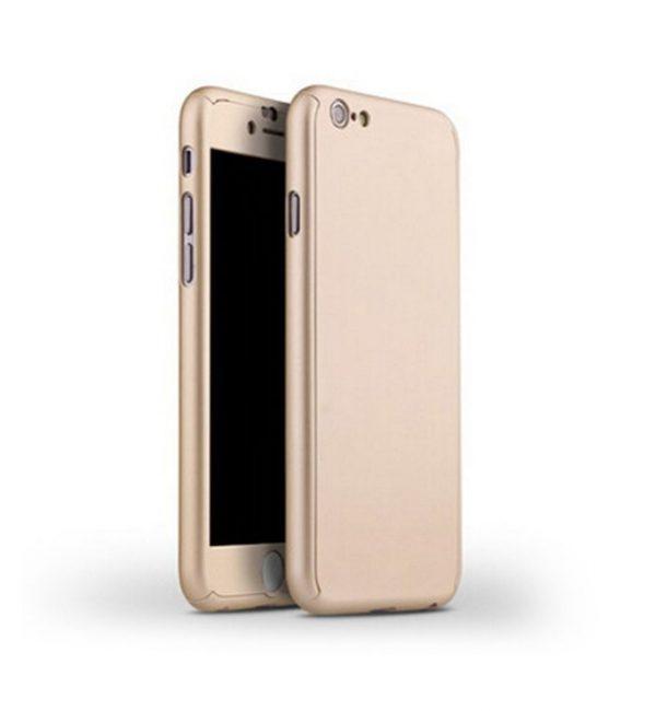 Celo telový kryt na iPhone 66s v zlatej farbe (1)