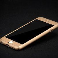 Celo telový kryt na iPhone 66s v zlatej farbe (2)