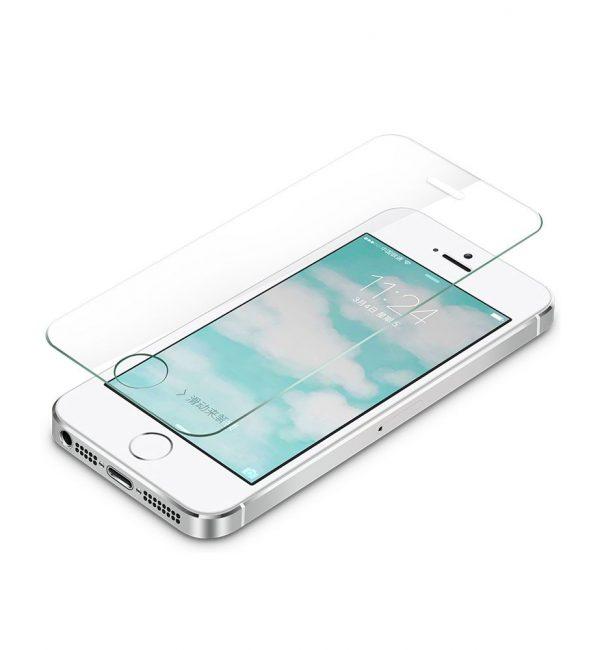 Kvalitné ochranné sklo iPhone 55sSE (2)