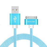 Nabíjací 30-Pinový kábel VOXLINK, 50cm, modrá farba (1)