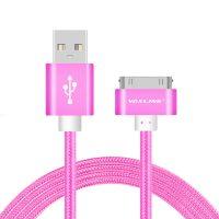 Nabíjací 30-Pinový kábel VOXLINK, 50cm, ružová farba (2)