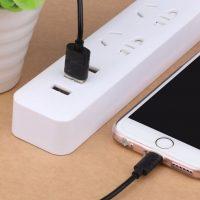 Nabíjací lightning kábel USAMS, 100cm, na iPhone alebo iPad. Synchronizačný a nabíjací kábel lightning pre iPhone iPad iPod (7)