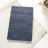 Púzdro na iPad Mini 1, 2, 3, zo syntetickej kože v tmavo modrej farbe (1)